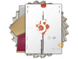 Giấy scan hình xăm S8 RED (lẻ)