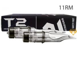 Kim đầu đạn T2 11RM đi bóng ngang