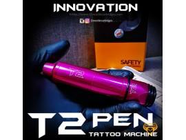 Máy xăm súng T2 Suicide PInk hồng