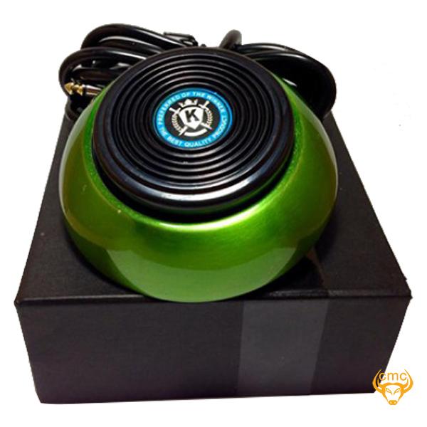Bàn đạp máy xăm ZKingmell Circle -Green