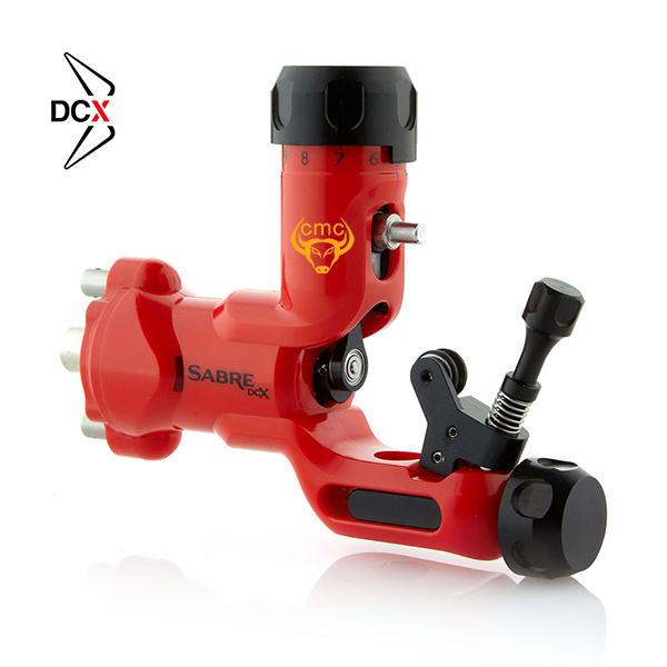 Máy xăm Sabre DCX - Signal Red