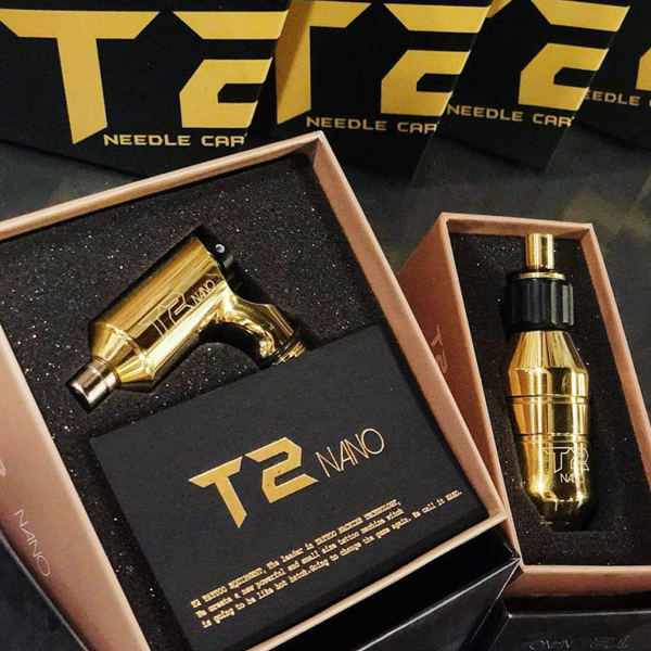 Máy xăm t2 nano gold phiên bản giới hạn