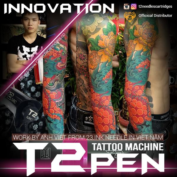 Thợ xăm Anh Việt Tattoo Artist - T2 Pen
