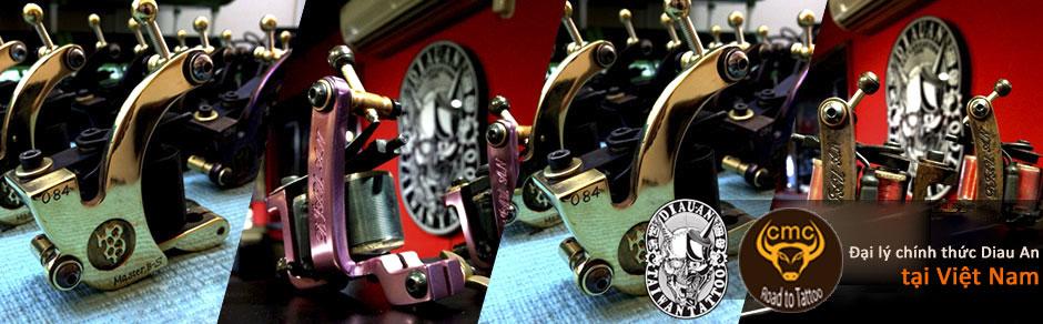 CMC Tattoo Supply là đại lý Diau An Tattoo đầu tiên tại Việt Nam