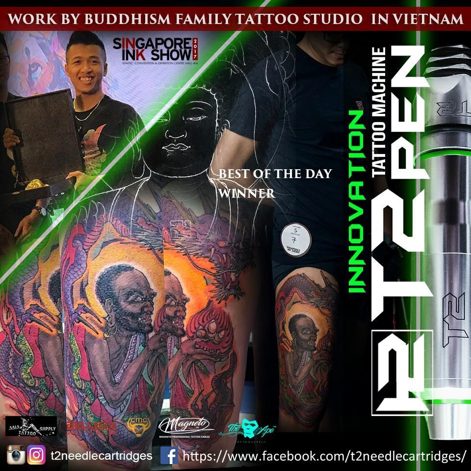 Thợ xăm Hoàng Buddhism Tattoo Artist - T2 Pen
