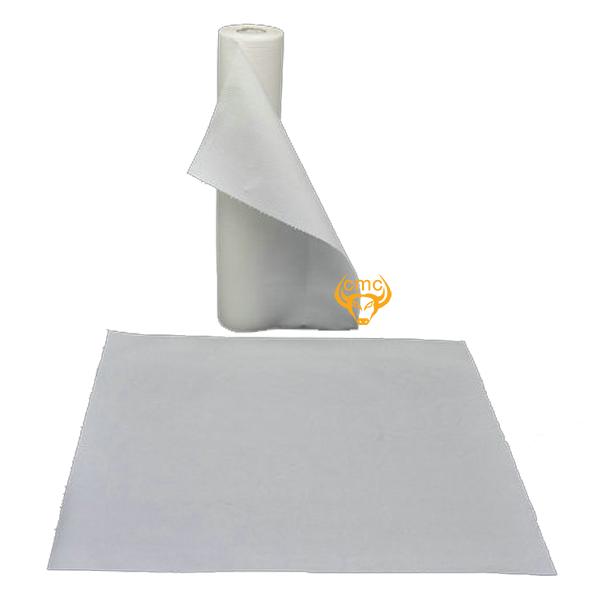 Khăn trải bàn xăm dùng một lần màu trắng