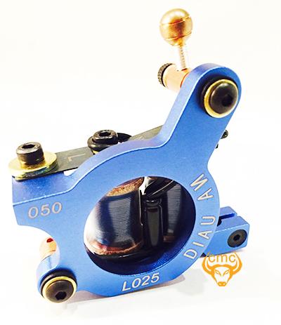 Maý xăm Diau An L025 đi nét xanh dương