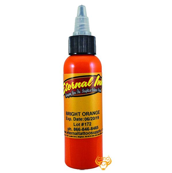 Mua bán Mực xăm màu Eternal Bright Orange 30ml tông da cam nhạt