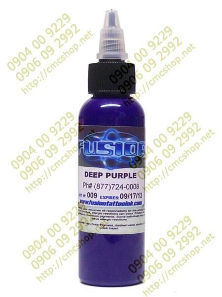 Mực xăm màu Fusion Deep Purple 30ml