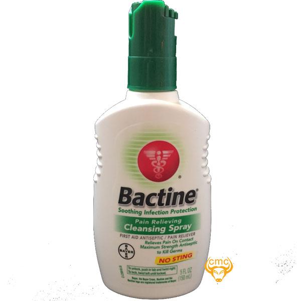 Nước vệ sinh Bactine Spray