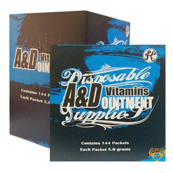 Vitamin A&D dưỡng da sau xăm